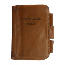 Thames Valley Police Leather Notebook Cover