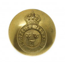 Shropshire Yeomanry Officer's Button - King's Crown (25mm)