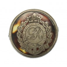 WW1 Royal Engineers 1915 Hallmarked Silver & Tortoiseshell Sweetheart Brooch