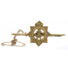 WW1 Army Service Corps (A.S.C.) 9ct Gold Sweetheart Brooch