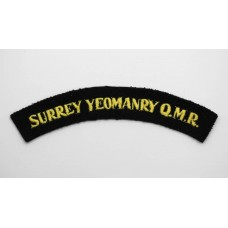 Surrey Yeomanry Queen Mary's Regiment (SURREY YEOMANRY Q.M.R.) Cl
