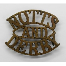 Notts & Derby Regiment Sherwood Foresters (NOTTS/AND/DERBY) S