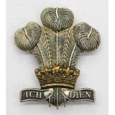 Royal Regiment of Wales Bi-metal Cap Badge