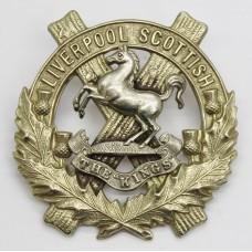 10th (Scottish) Bn. King's Liverpool Regiment (Liverpool Scottish) Cap Badge