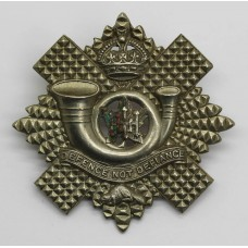 Highland Light Infantry of Canada Cap Badge - King's Crown