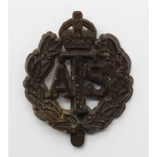 Auxiliary Territorial Service (A.T.S.) WW2 Plastic Economy Cap Ba