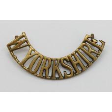 West Yorkshire Regiment (W.YORKSHIRE) Shoulder Title