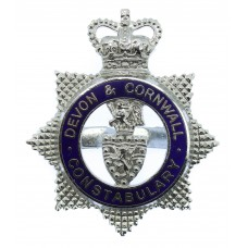 Devon & Cornwall Constabulary Senior Officer's Enamelled Cap