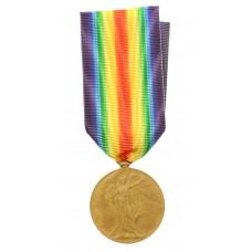 WW1 Victory Medal - Pte. F. Rymell, Durham Light Infantry