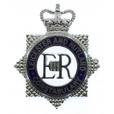 Leicester & Rutland Constabulary Senior Officer's Enamelled C