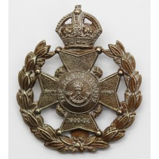 7th Bn. (The Robin Hoods) Sherwood Foresters Cap Badge - King's C