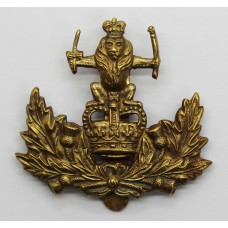 Queen's Own Royal Glasgow Yeomanry Cap Badge - Queen's Crown