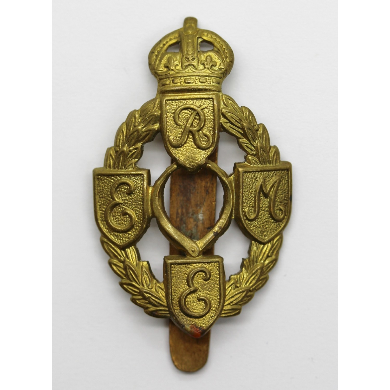Royal Electrical   Mechanical Engineers (R.E.M.E.) Cap Badge (1st Pattern) 9dcaf4c3a53e
