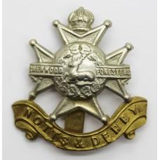 Notts & Derby Regiment (Sherwood Foresters) Cap Badge