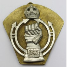 Royal Armoured Corps (R.A.C.) Cap Badge - King's Crown (2nd Pattern)