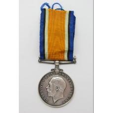 WW1 British War Medal - Act.A.M.1 J.P. Carter. Royal Naval Air Se