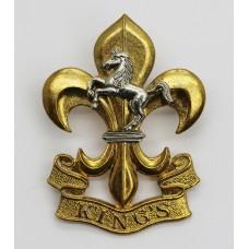 The King's Regiment Cap Badge