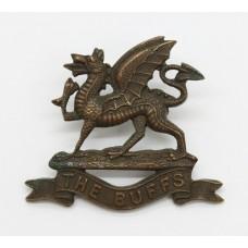 East Kent Regiment (The Buffs) Officer's Service Dress Collar Bad