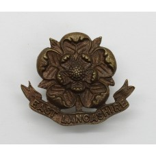 East Lancashire Regiment Officer's Service Dress Collar Badge