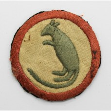 7th Armoured Brigade WW2 Cloth Formation Sign