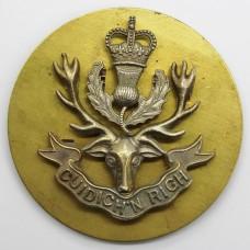 Queen's Own Highlanders Cap Badge