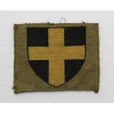 38th (Welsh) Division Silk Embroidered Formation Sign