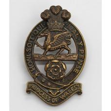 Princess of Wales's Royal Regiment Cap Badge