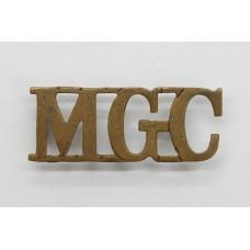 Machine Gun Corps (M.G.C.) Shoulder Title