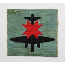 8th Anti-Aircraft Division Silk Embroidered Formation Sign
