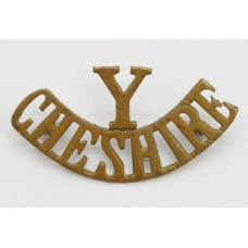 Cheshire Yeomanry (Y/CHESHIRE) Shoulder Title