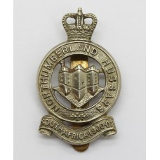 Northumberland Hussars Cap Badge - Queen's Crown