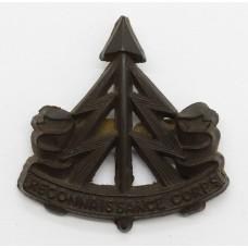 Reconnaissance Corps WW2 Plastic Economy Cap Badge