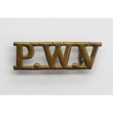 South Lancashire Regiment (P.W.V.) Shoulder Title