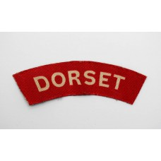 Dorsetshire Regiment (DORSET) WW2 Printed Shoulder Title