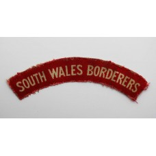 South Wales Borderers (SOUTH WALES BORDERERS) WW2 Printed Shoulder Title