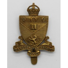 St. Andrews University O.T.C. Cap Badge - King's Crown