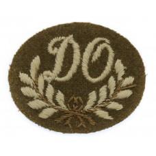 British Army Driver/Operator (D.O.) Cloth Proficiency Arm Badge