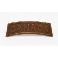 WWI Canadian Infantry (CANADA) Shoulder Title (Dated 1916)