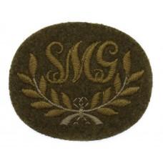British Army Sten Machine Gun (S.M.G.) Cloth Proficiency Arm Badge