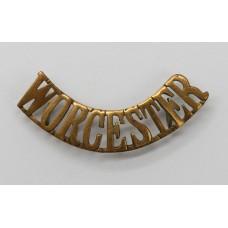 Worcestershire Regiment (WORCESTER) Shoulder Title