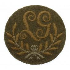British Army Light Machine Gunner (L.G.) Cloth Proficiency Arm Badge