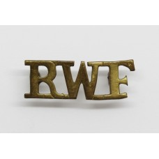 Royal Welsh Fusiliers (RWF) Shoulder Title