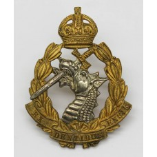 Royal Army Dental Corps (R.A.D.C.) Officer's Dress Cap Badge - Ki