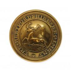 The Hertfordshire Regiment Officer's Button (26mm)