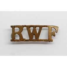 Royal Welsh Fusiliers (R.W.F.) Shoulder Title