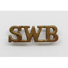 South Wales Borderers (S.W.B.) Shoulder Title