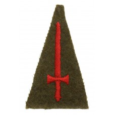 A.T.S. (Auxiliary Territorial Service) London District Cloth Form