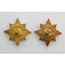 Pair of Irish Guards Collar Badges