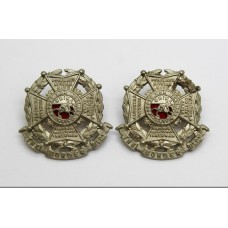 Pair of Border Regiment Collar Badges