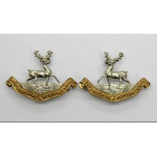 Pair of Bedfordhsire & Hertfordshire Regiment Collar Badges